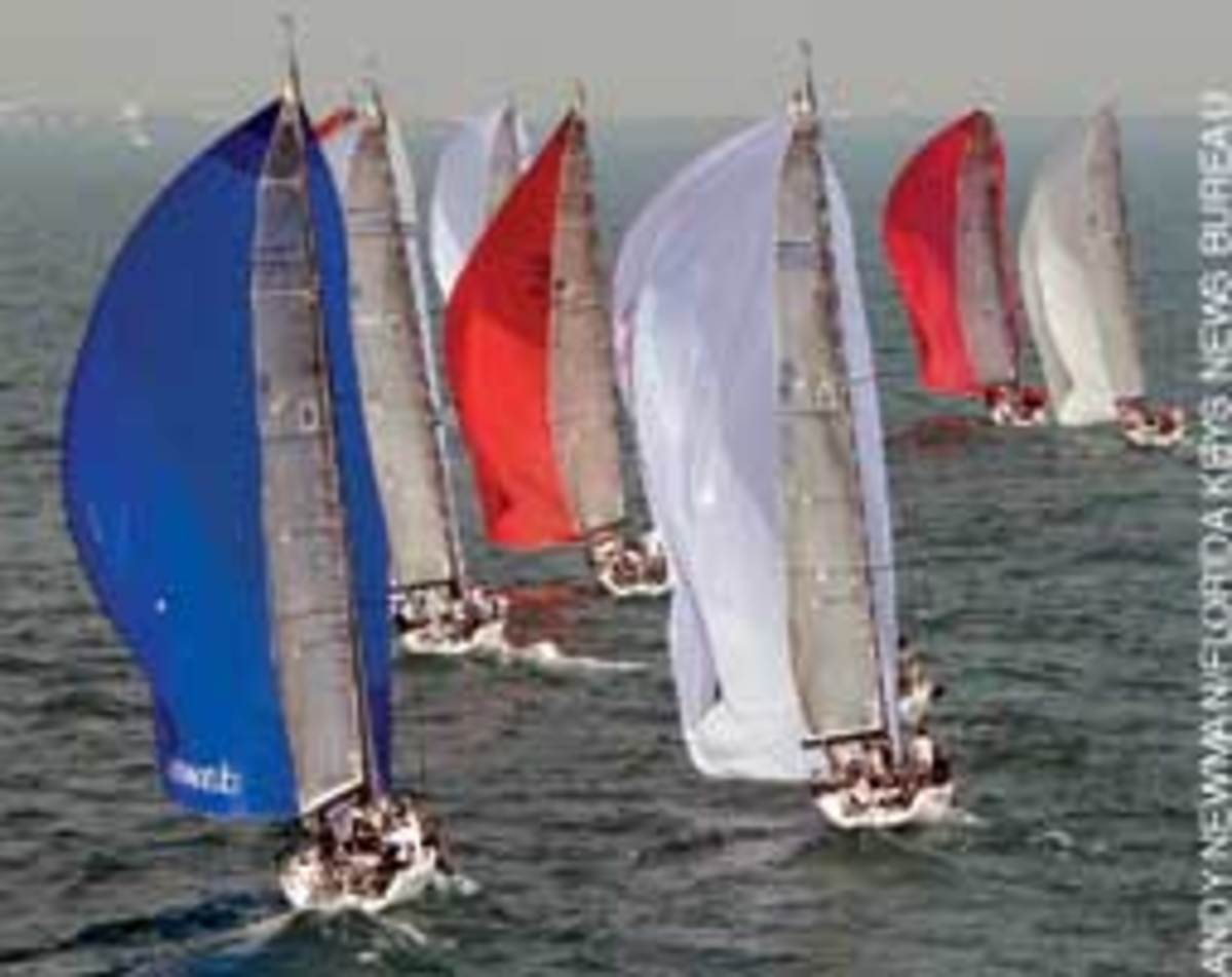 William Douglass took the Melges 32 class in very competitive racing.