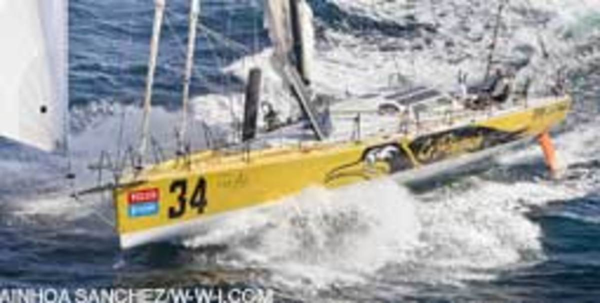 Van Liew bought Le Pingouin in France last year. The Eco 60 has a rich racing pedigree.