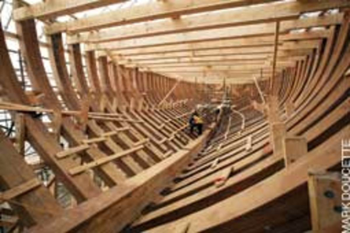 Restoration of the 48-year-old, 161-foot schooner Bluenose II is picking up steam.