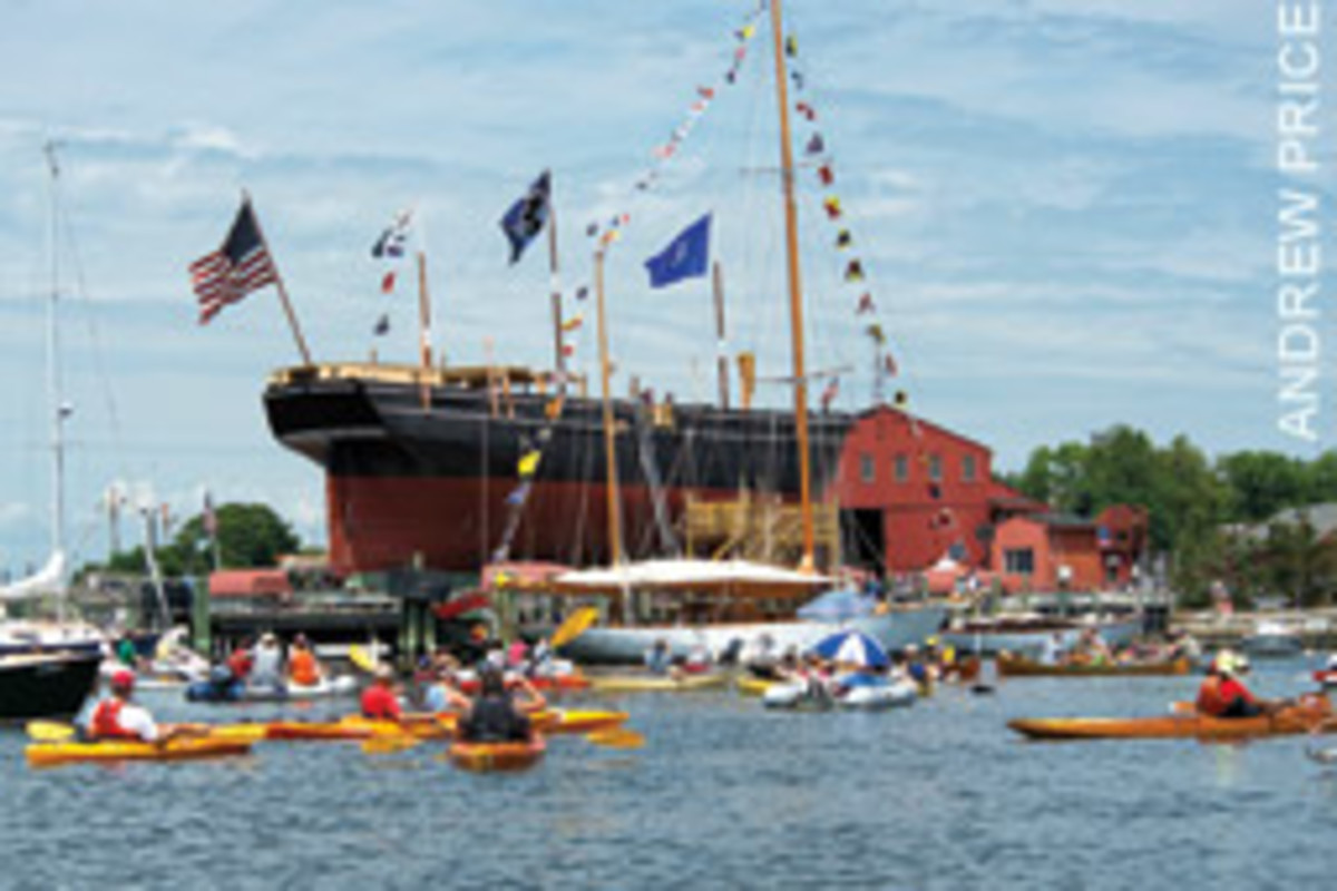 The Morgan will set off on a voyage to New England ports next spring.