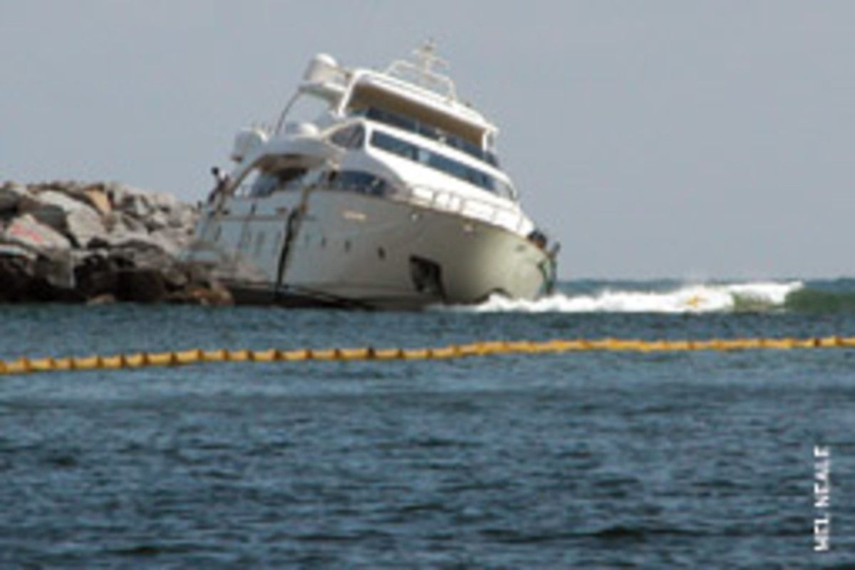 Large yacht or small, no vessel can escape the dangers of the sea if its captain fails to make good decisions.