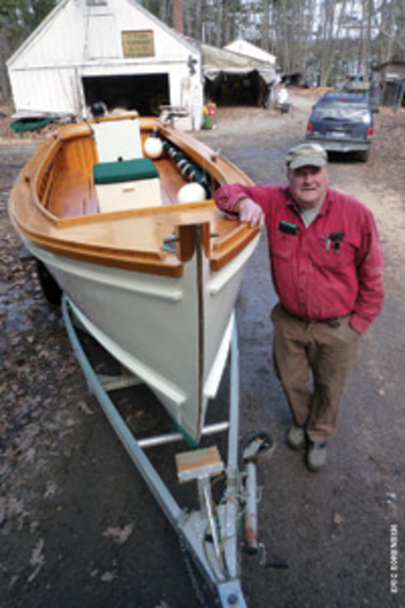 Do one thing really well is a mantra that fits Dick Pulsifer and his open 22-foot skiffs.
