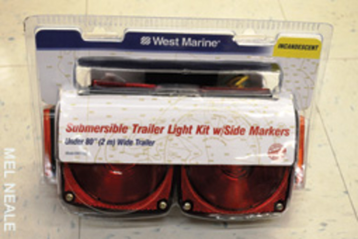 Submersible Trailer Light Kit provided by West Marine