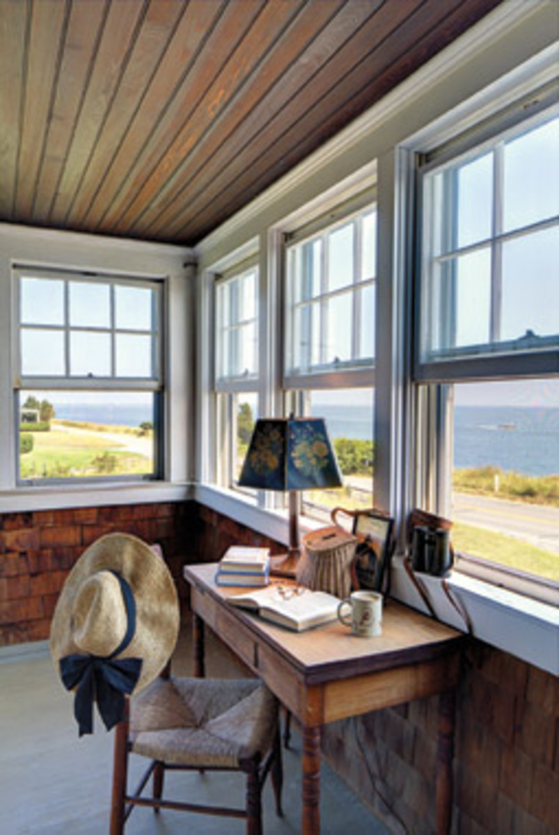 Expansive views are a prime feature of the 4,100-square-foot house built in 1928.