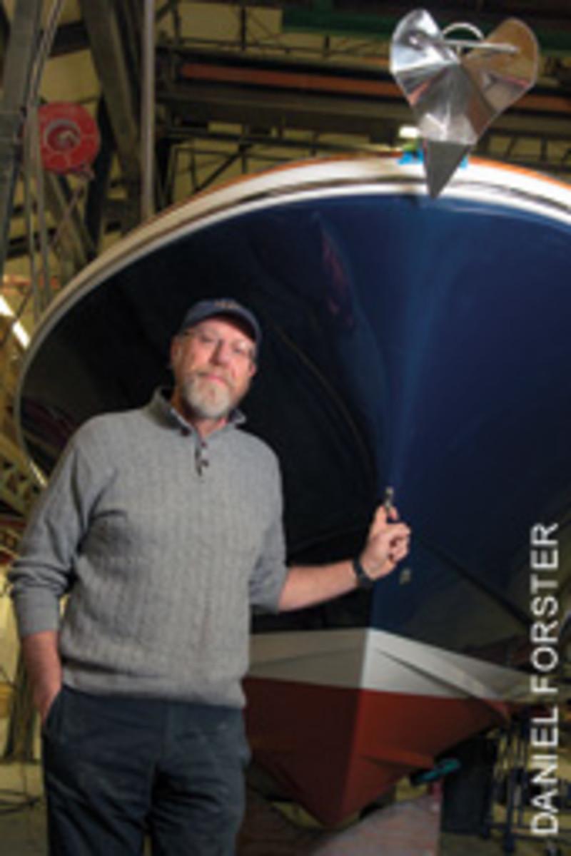 Peter Van Lancker is president and CEO of Hunt Yachts.