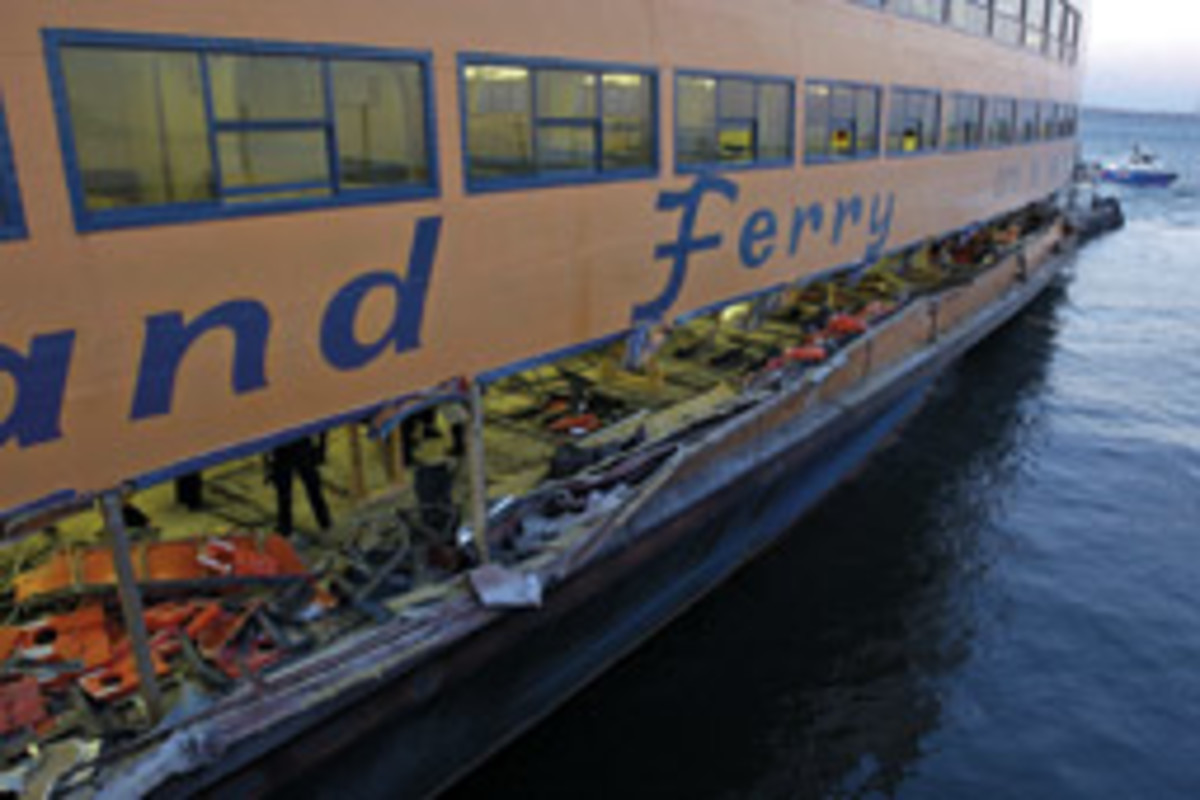 Mercante was involved in litigation as a result of the Staten Island ferry crash in 2003.