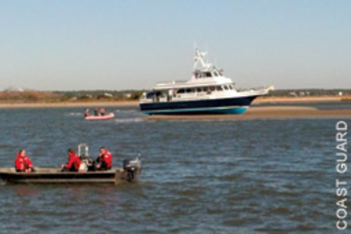 At least 14 people were hurt when the Bald Head Island ferry Adventure ran aground last December.
