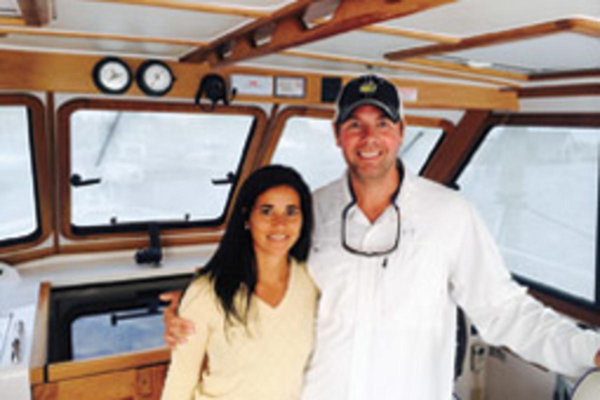 Danielle and Brian Harris