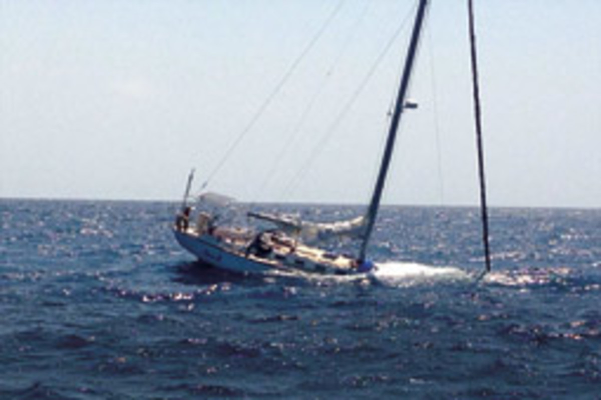 A stuffing box failure was suspected when the 42-foot Tartan Leila B sank during a regatta off Florida's Gulf Coast last year.