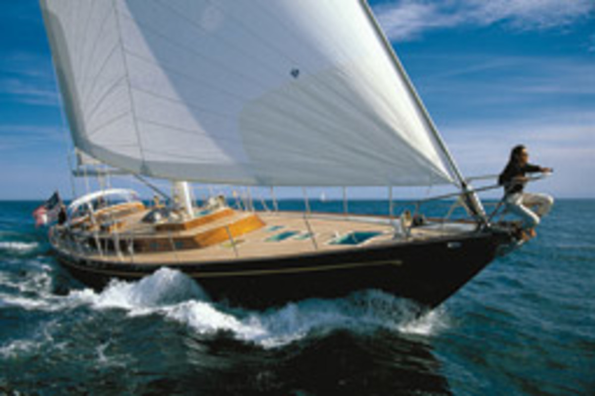 Hinckley is now well-known for its powerboats, but it has never strayed from building sailing yachts such as the Sou'wester 70.