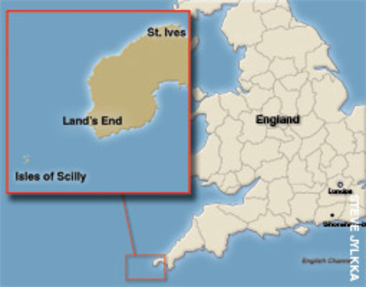Looking back, Richard Griffiths calls his planned trip from Shoreham-by-Sea to St. Ives dangerously naive and stupid.