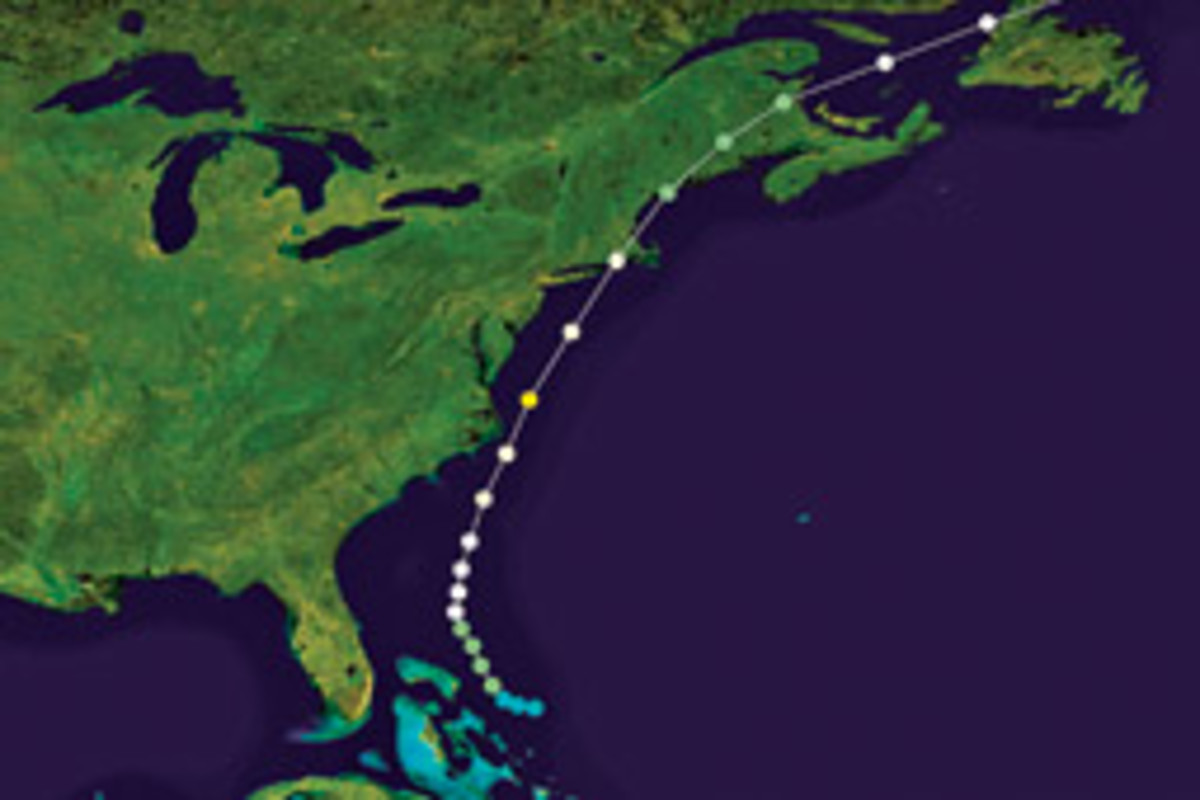 Hurricane Bob, which swept through the Northeast in 1991, serves as a reminder that the region should remain vigilant about hurricanes.