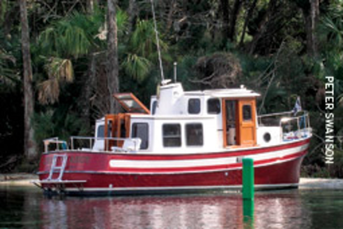 The original Nordic Tug 26 debuted in 1980.