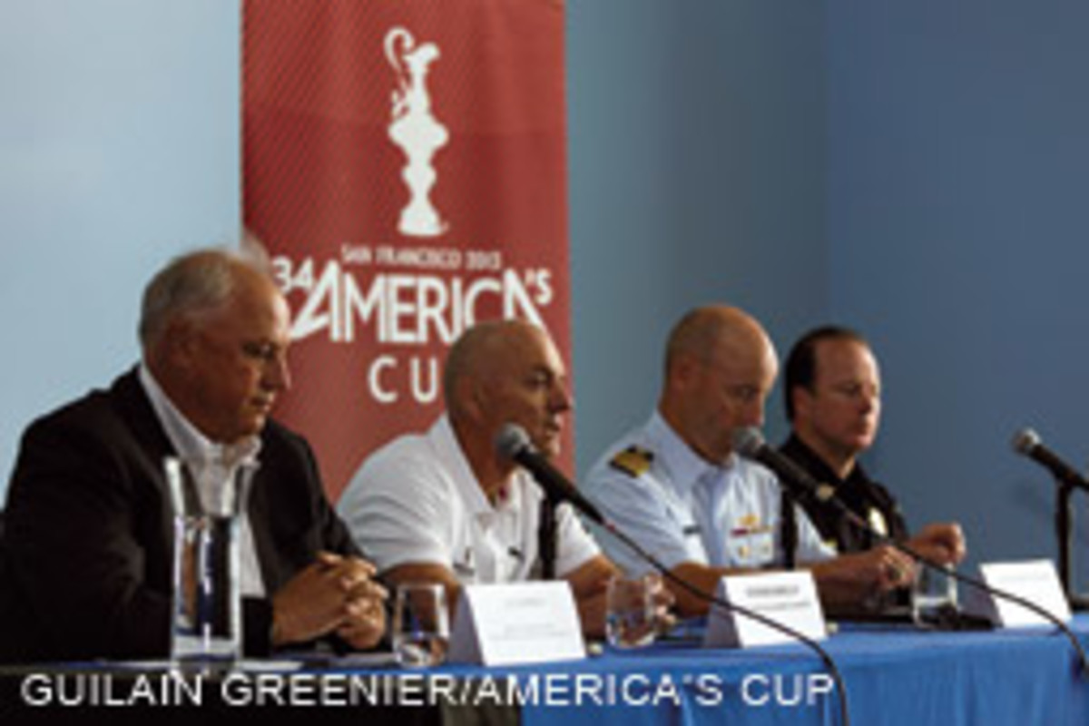 Cup, Coast Guard and law enforcement officials addressed the media in the wake of the tragedy.
