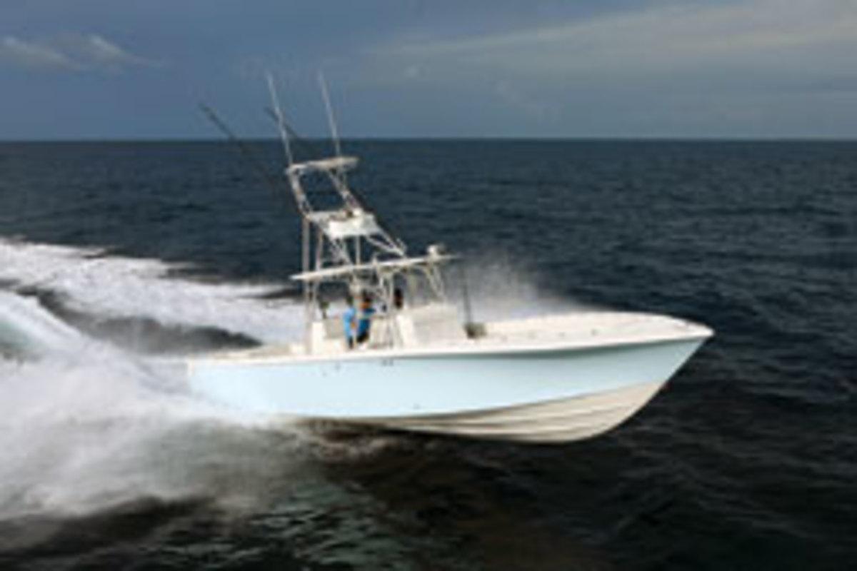 SeaVee's 390 IPS boat