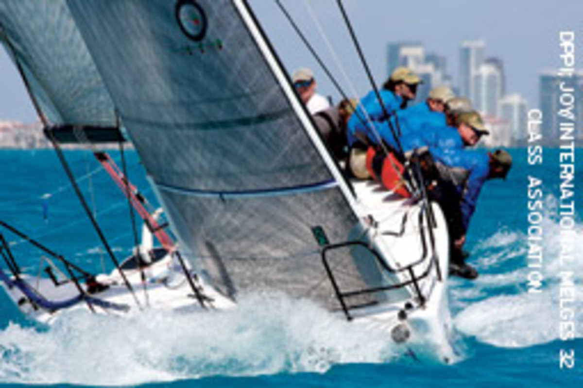 New Wave, co-owned by Michael Carroll and Marty Kullman of Clearwater, Fla., took the honors in Melges 32 class thanks to a fourth in Key West and a fifth in Miami.