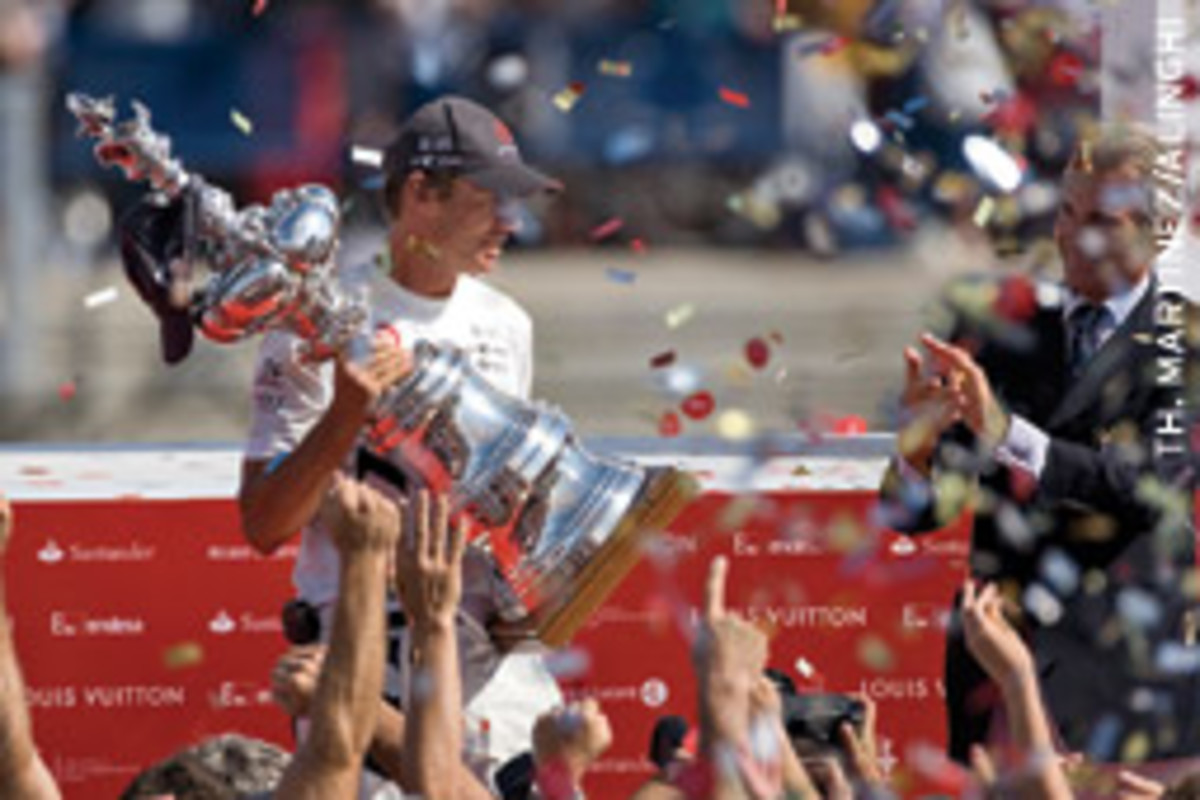 Ernesto Bertarelli's Alinghi syndicate has twice won the America's Cup.