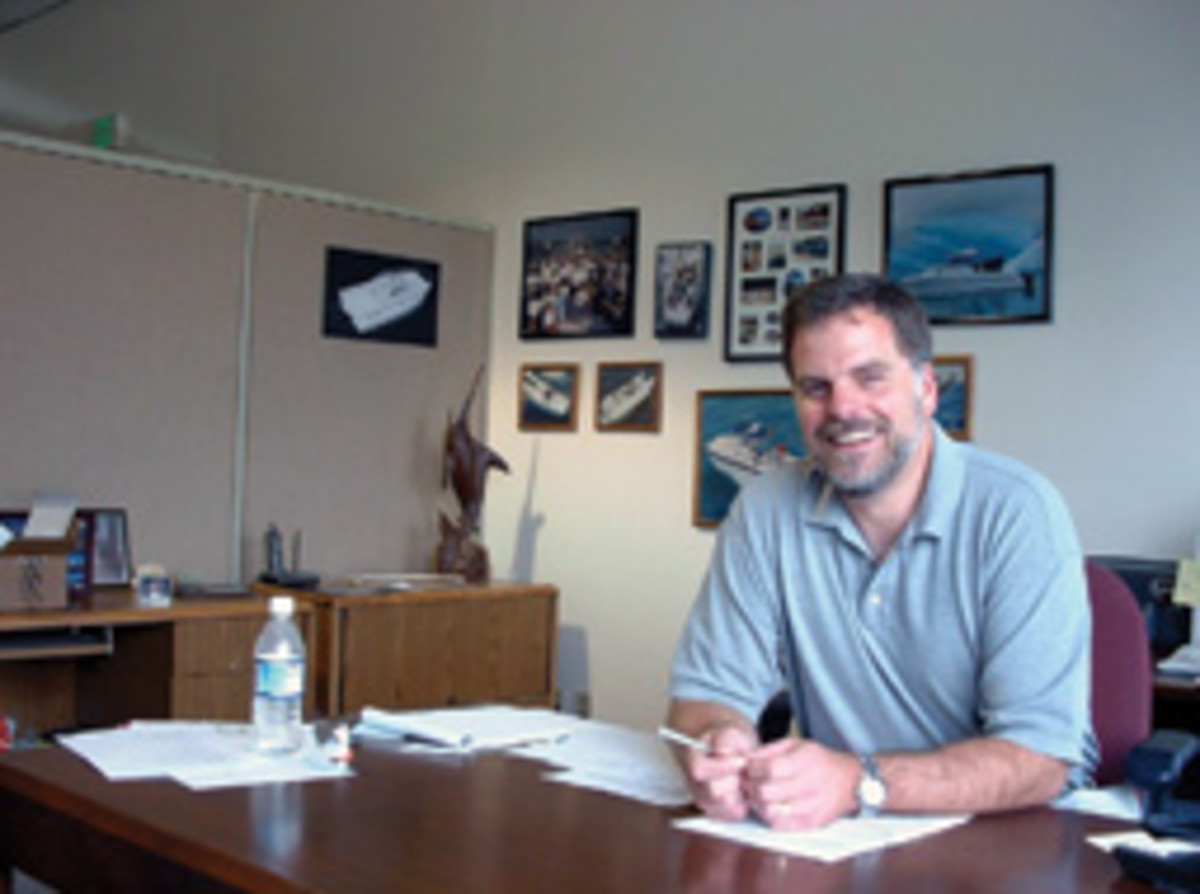 Larry Graf founded two power catamaran companies.