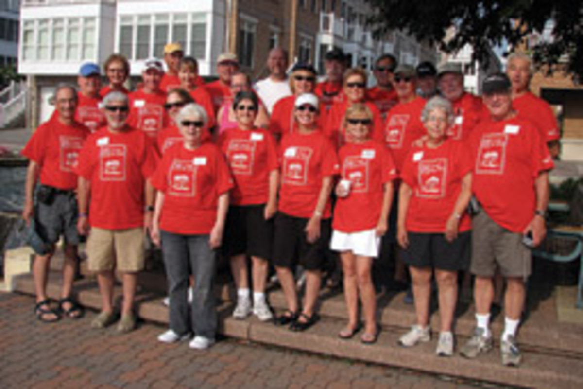 Selby Bay Yacht Club members joined together to support Cruise for Kids in Baltimore, Md.