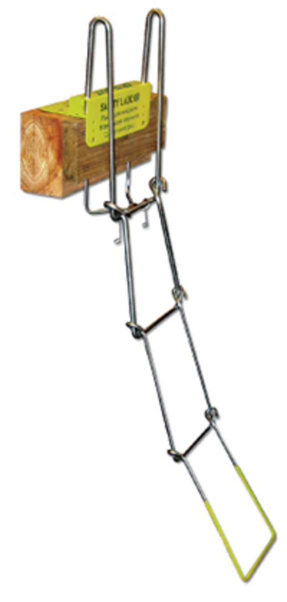 Up-N-Out Marina Safety Ladder, $199