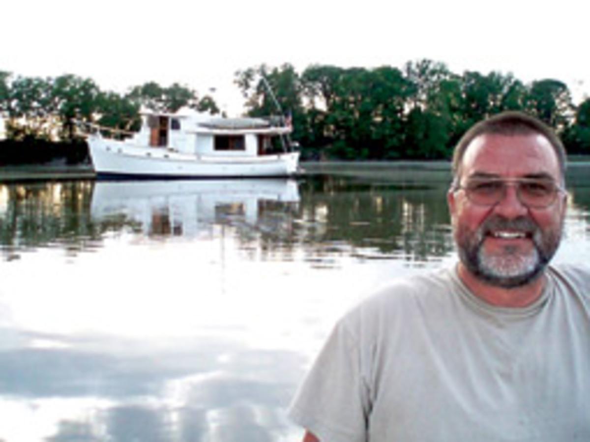 Bob Bond prefers cruising the Bahamas.