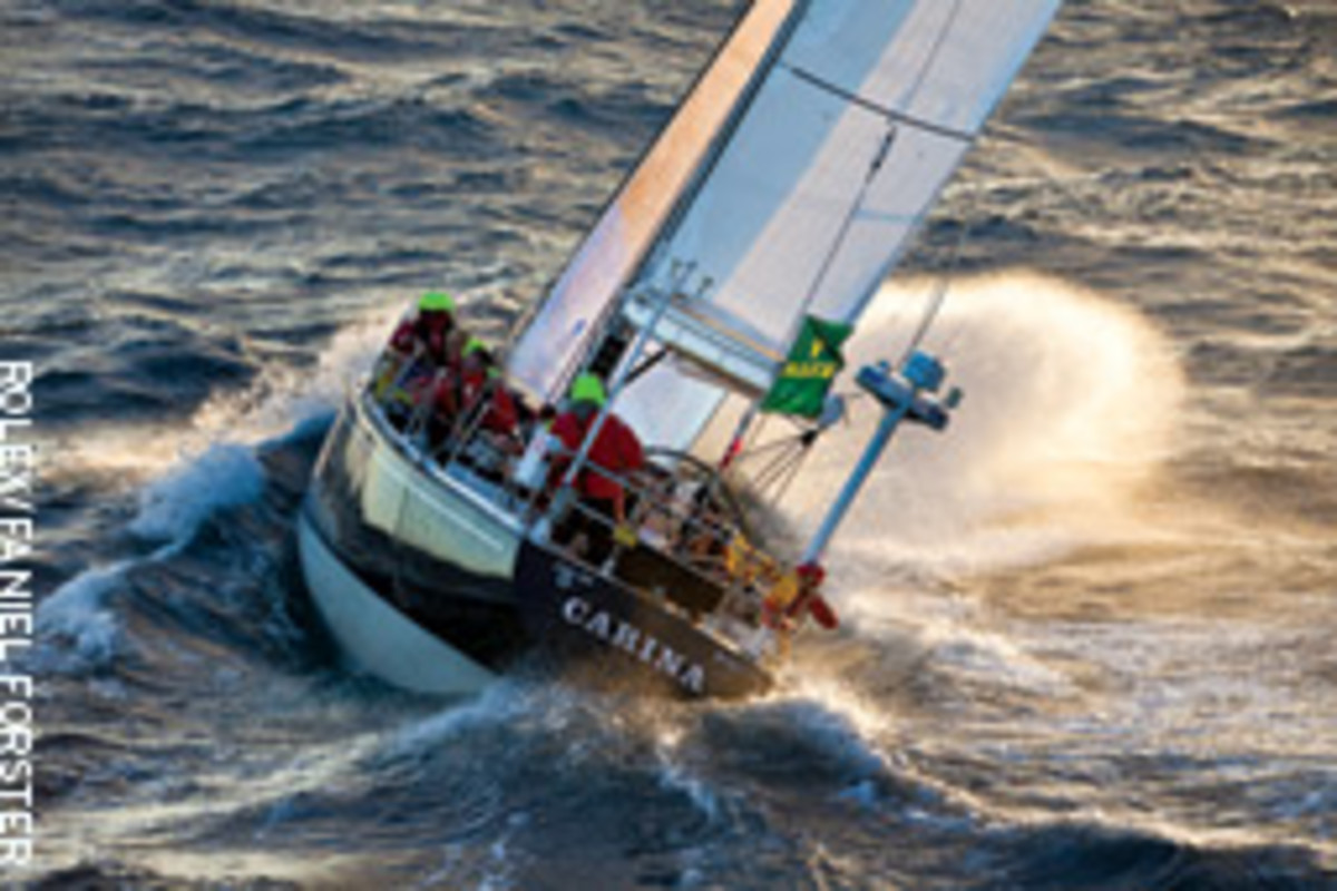 Potts' 48-foot 1969 McCurdy & Rhodes has plenty of bluewater miles under her keel.