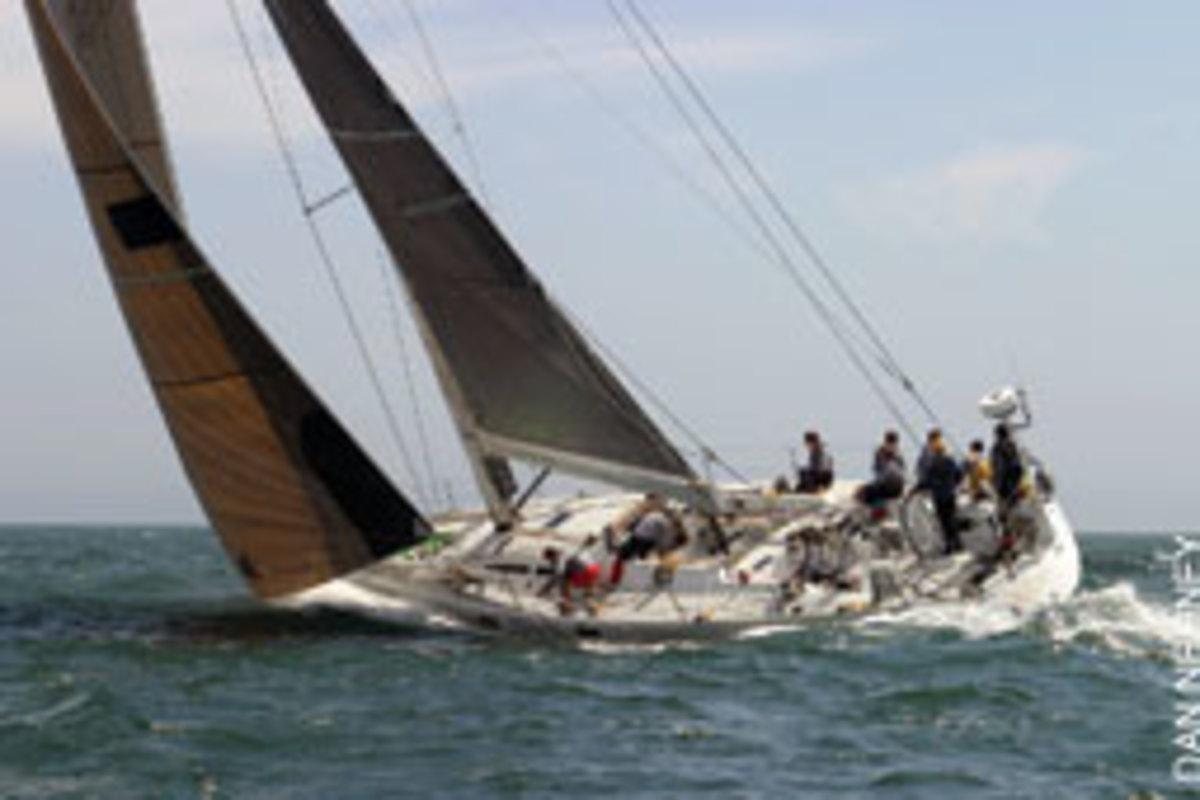 Zaraffa, skippered by Huntington Sheldon, won the Transatlantic Race in 2003. The boat will sail in the Transatlantic Race 2011.