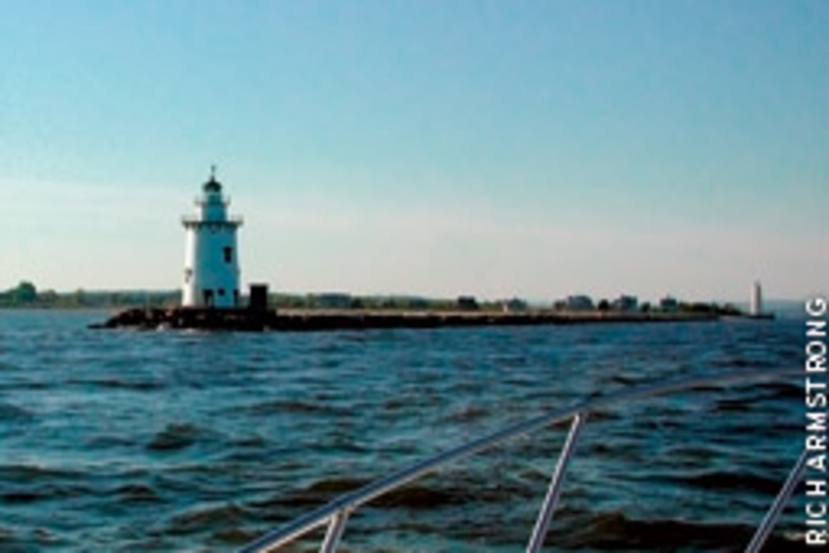 Saybrook Breakwater Lighthouse has welcomed vessels into the mouth of the Connecticut River since 1886.