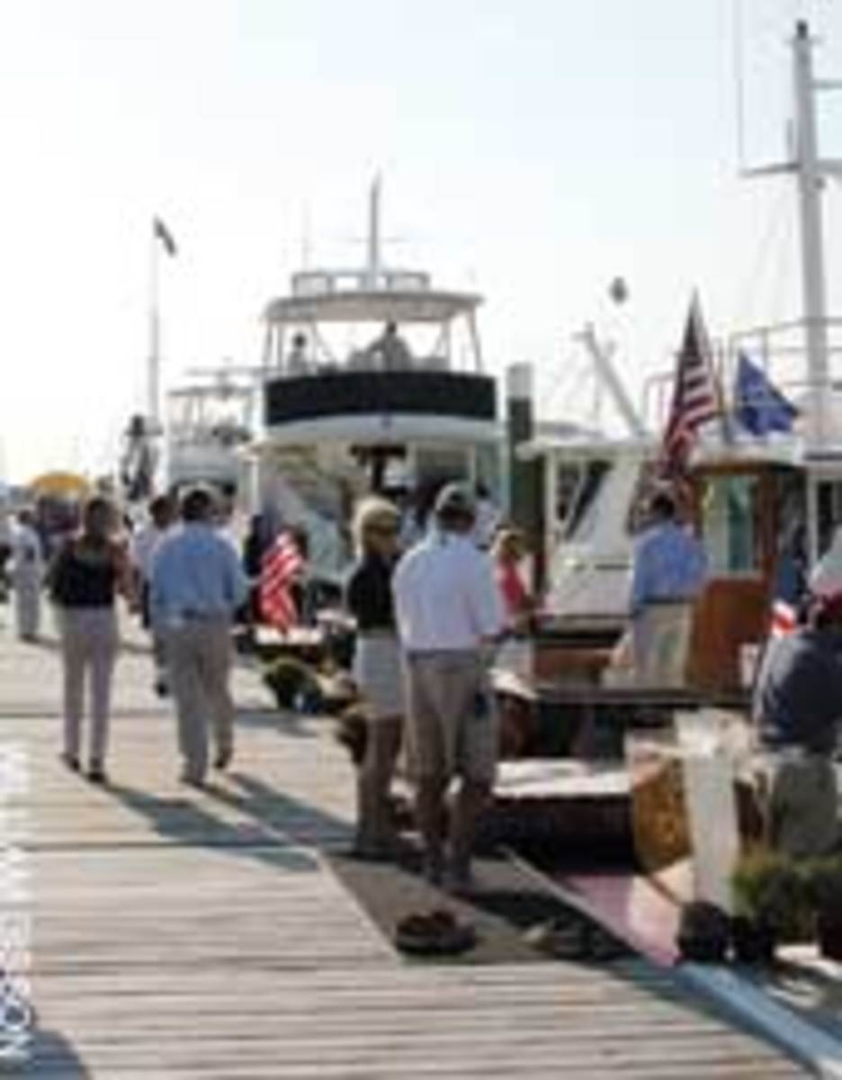 Dealers say the market began to return at the fall and winter boat shows.
