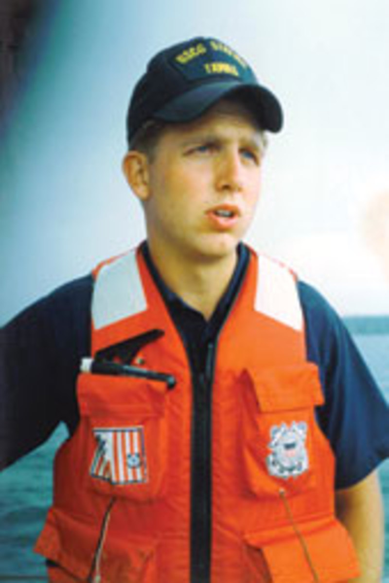 Boehmer joined the Coast Guard out of high school and served two years of active duty.