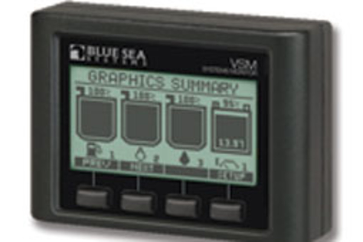 You can calculate and monitor power consumption with Blue Sea's VSM 42.