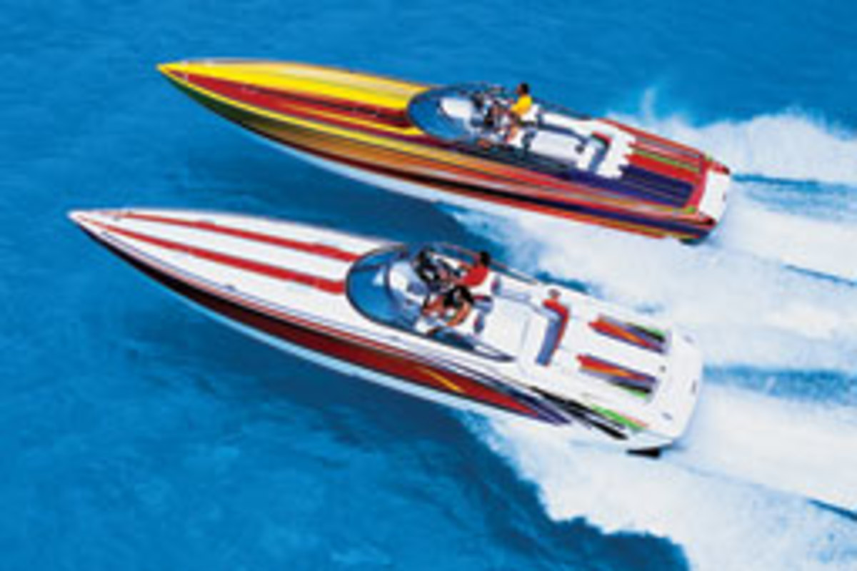 Formula's John Adams and other designers have made solid progress with stepped-hull boats.