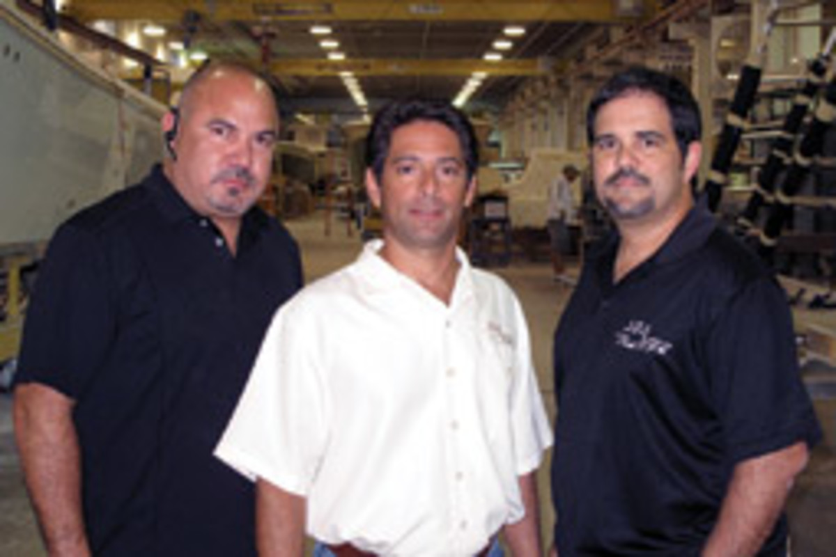 Company owners (from left) Moises Rodriguez, Ralph Torres and Ariel Pared are known for their willingness to carry out customers' design requests.