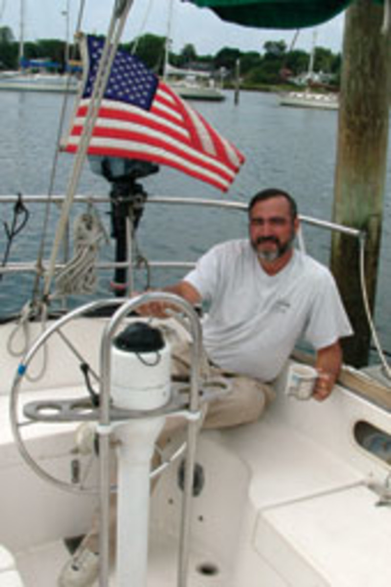 Greg Coppa learned a bit more about sailing and growing older in two episodes last summer.