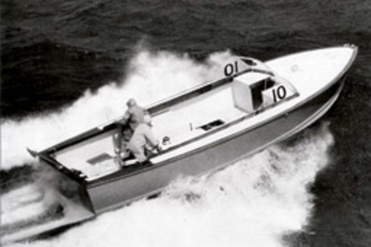 The 31-foot Moppie was the boat that started it all.