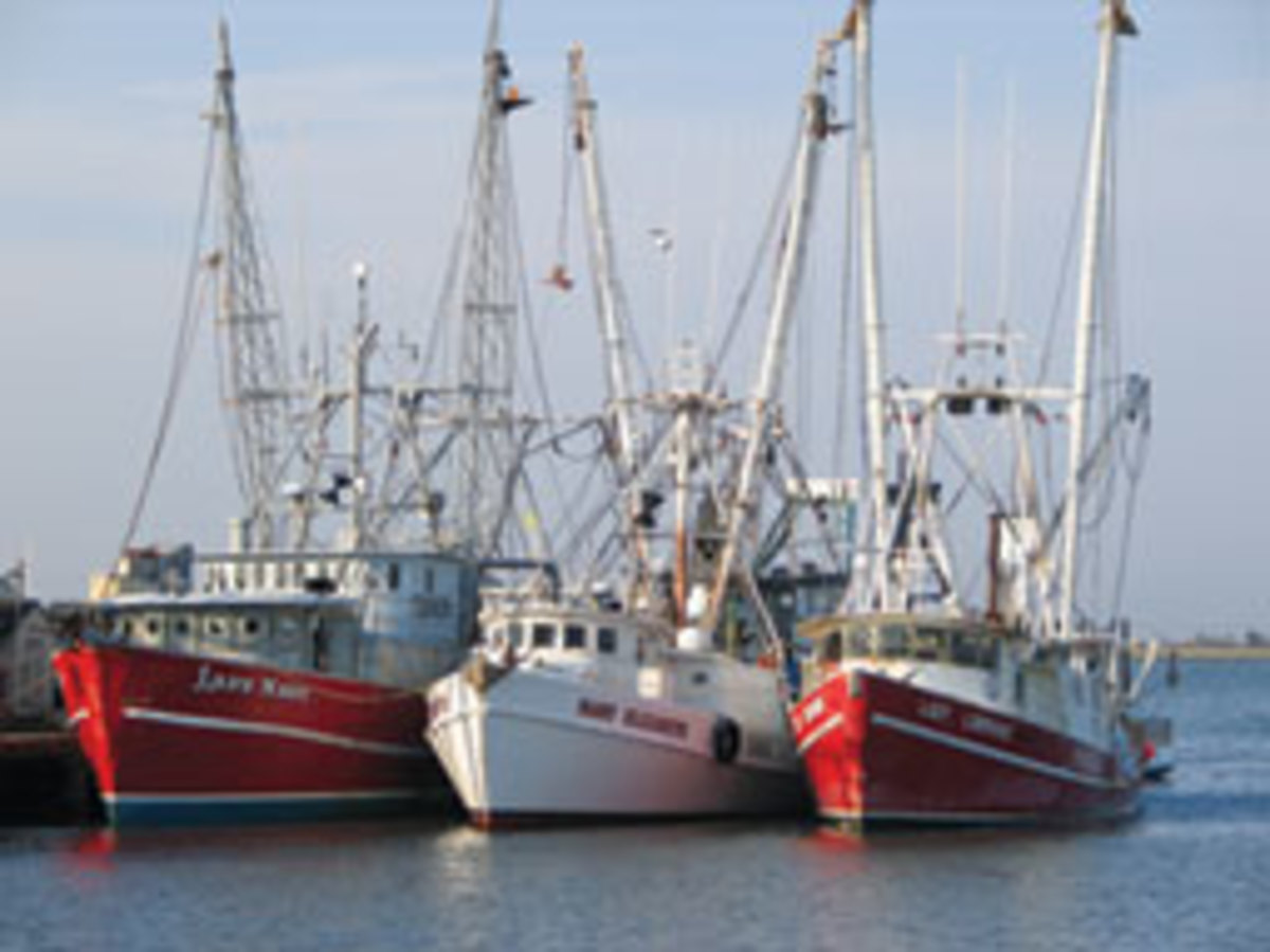 Six men died in the 2009 sinking of the Lady Mary (left), contributing to the worst record of commercial fishing deaths in New Jersey since 1921.