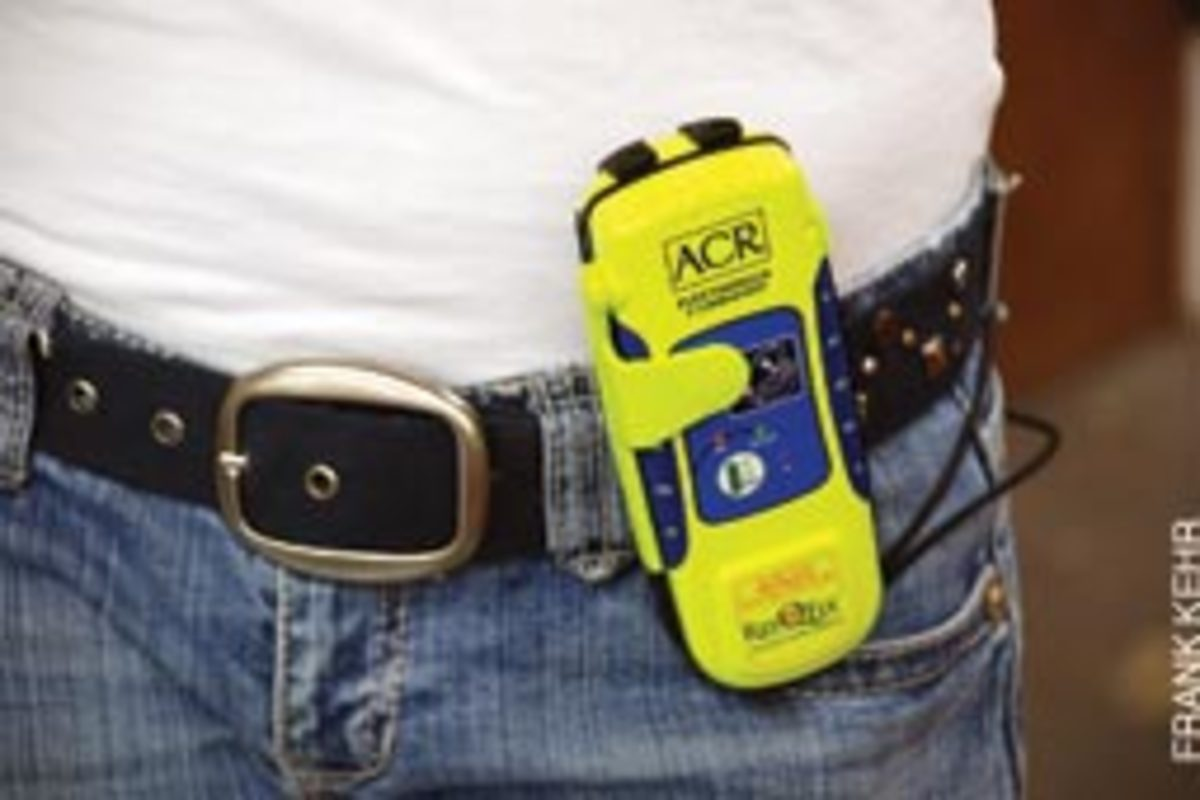 A PLB, such as the ACR ResQFix, is a critical safety device for skippers who operate alone.