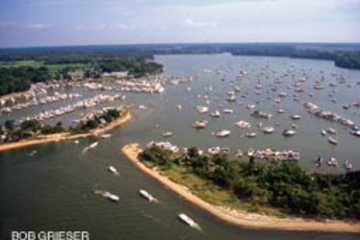 The benefits of no discharge zones are clear in areas with large concentrations of boats.