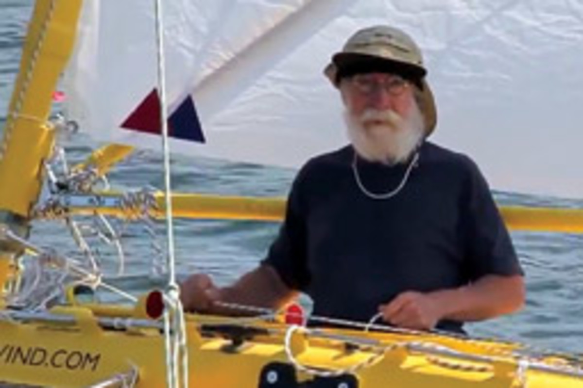 Yrvind says he's never bored at sea.