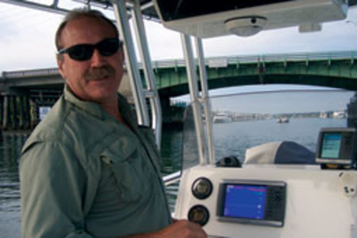 Watson was fishing with his son and two friends about 25 miles off Wrightsville Beach, N.C.