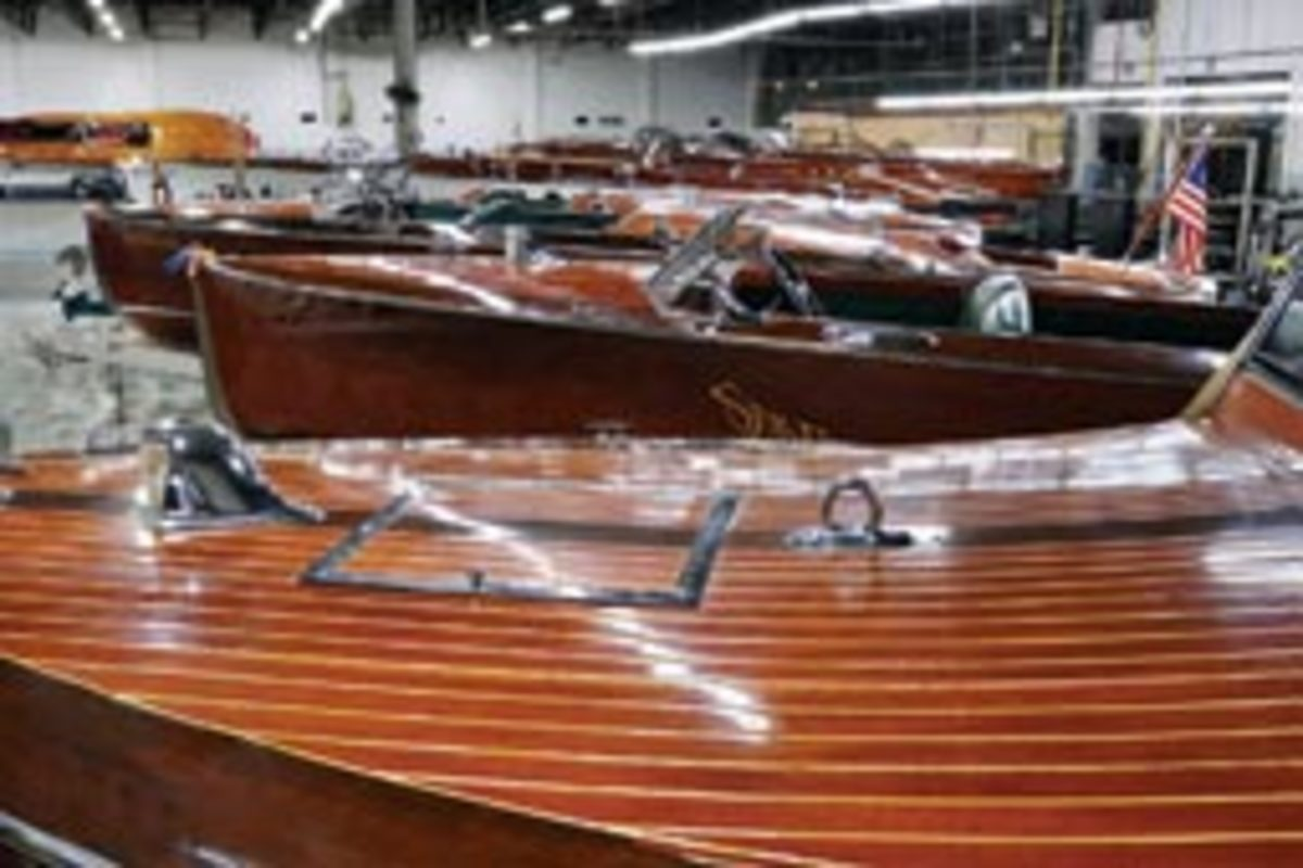 Warner sold 127 boats from his collection