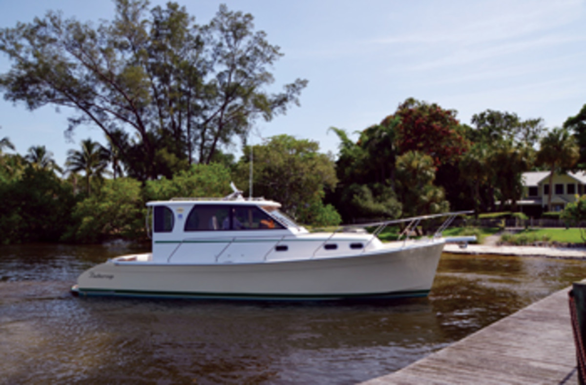 Pocket cruisers the comfort is big soundings online for Marlow builders