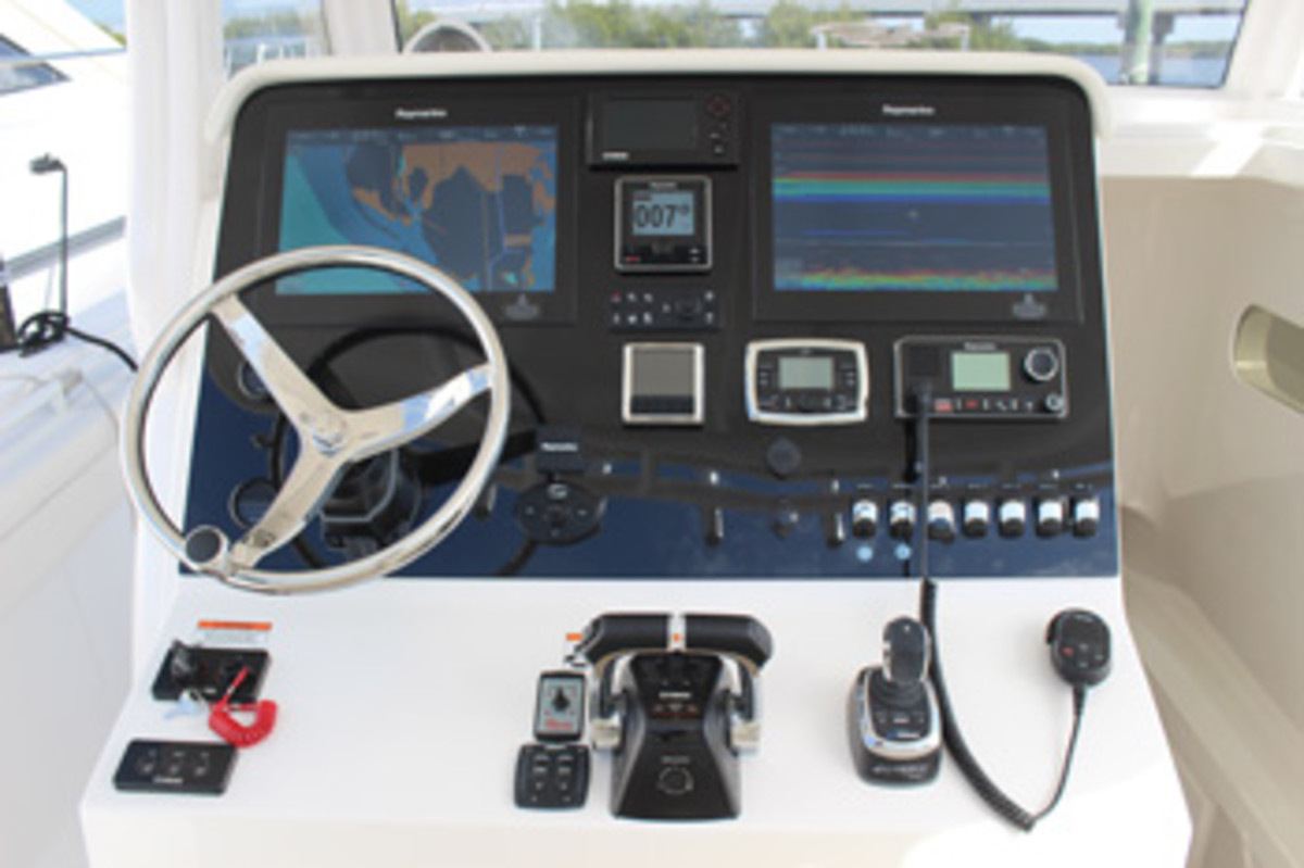 Today's helms represent technology at its highest, but good seamanship includes the ability to navigate using traditional methods, such as dead reckoning.