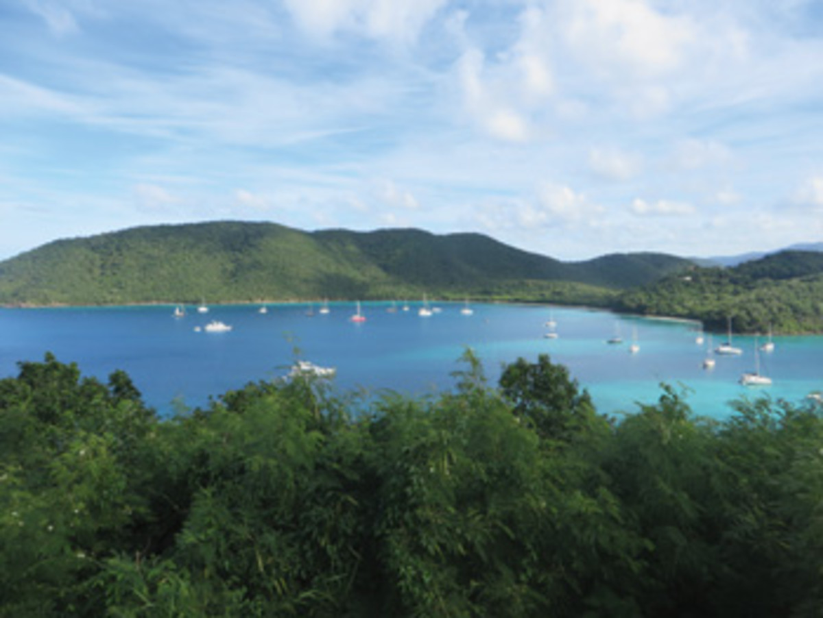 Destination satisfaction: Francis Bay and Maho Bay on St. John in the U.S. Virgin Islands.