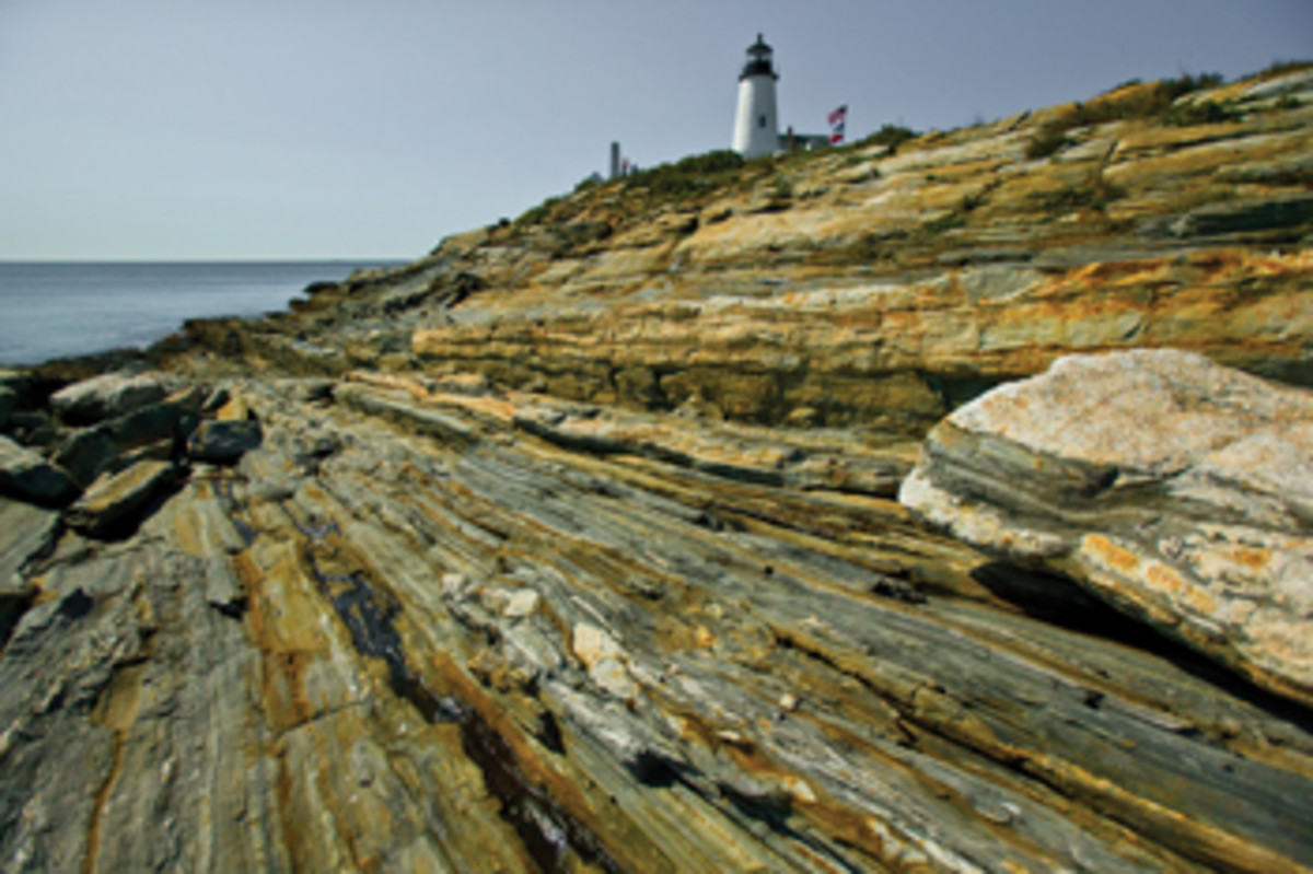 Pemaquid Point Lighthouse, 1827