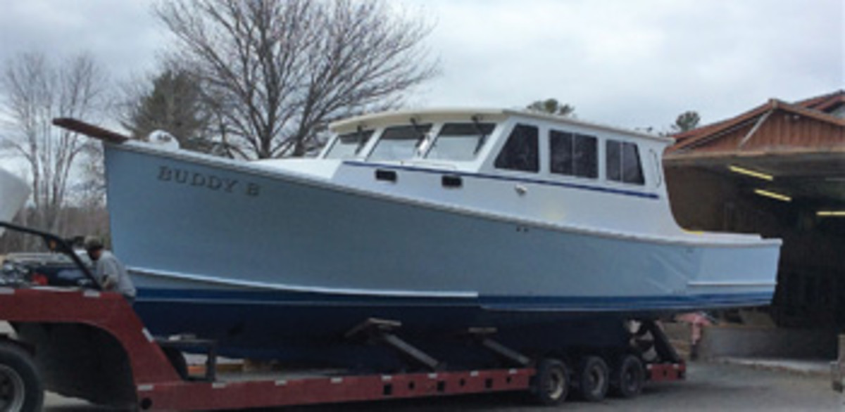 Buddy B, a 45-foot Young Brothers hull finished by SW Boatworks.