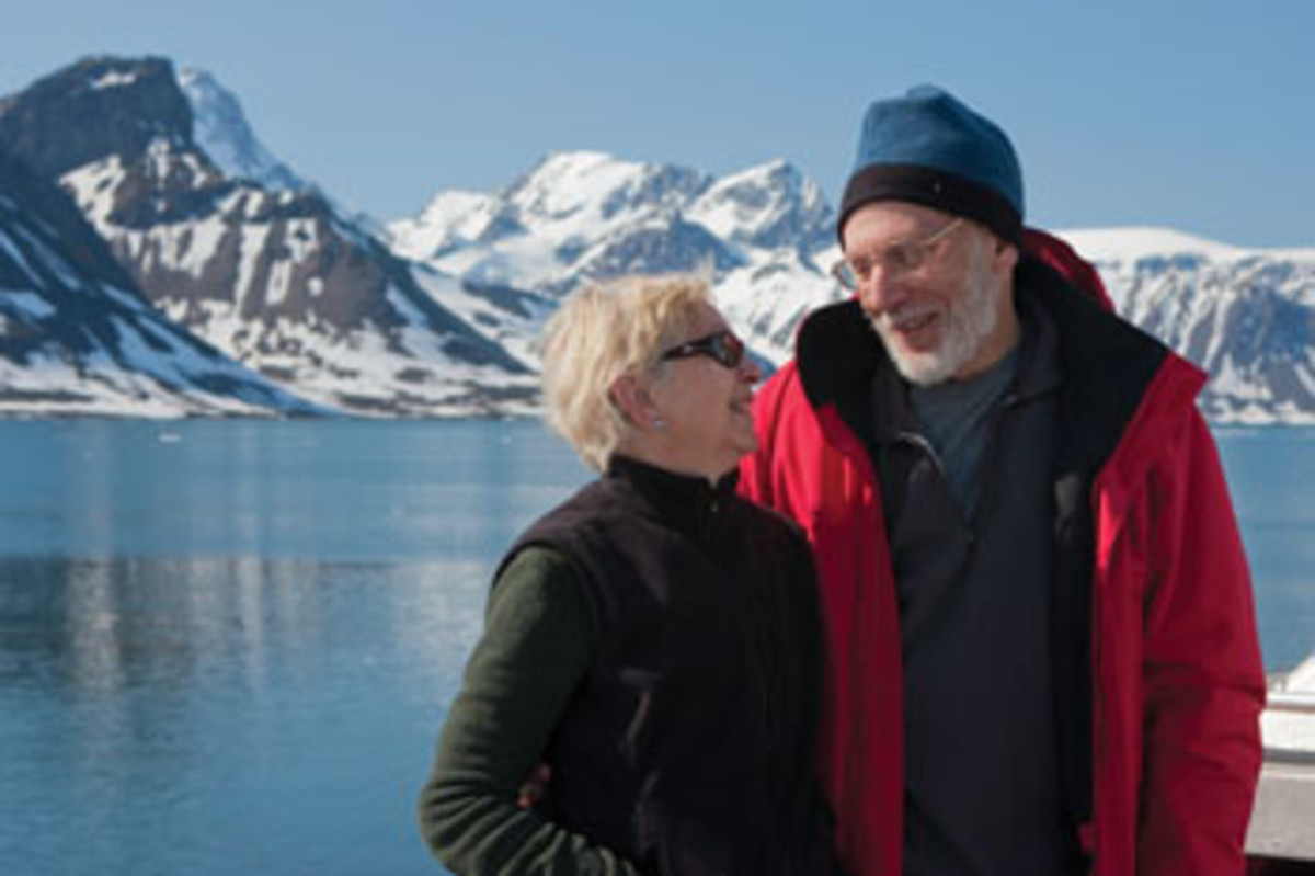 Linda and Steve Dashew have been voyaging as a team for 40 years.