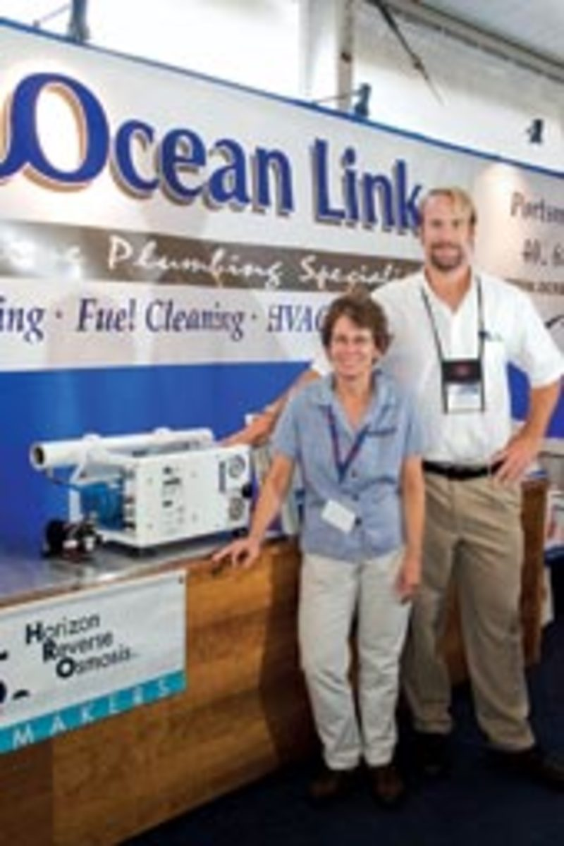 Ocean Link specializes in sanitation systems and watermakers.