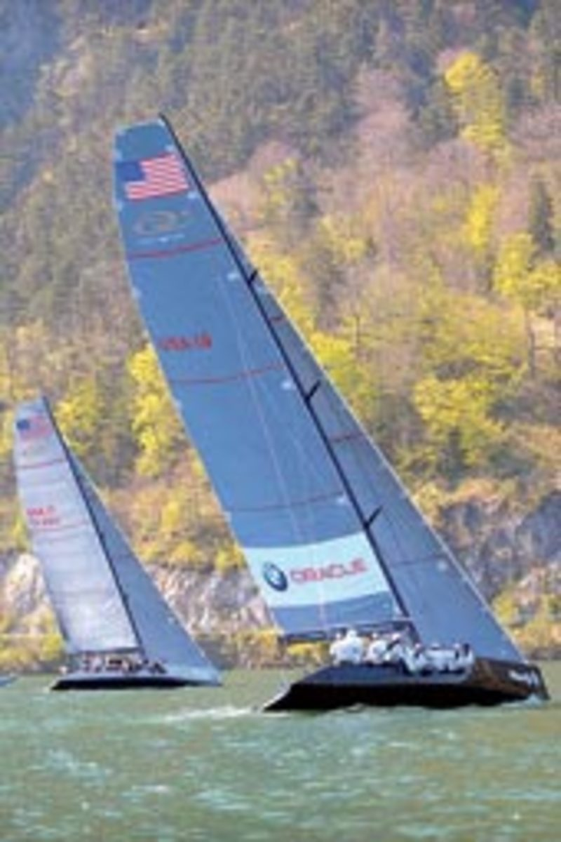 The Americans beat out Team Aqua to win the RC 44 Austria Cup.