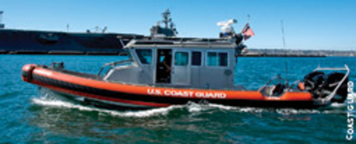 A patrol boat similar to this one was invloved in the San Diego Bay accident that killed an 8-year-old boy.